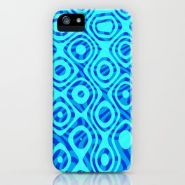 Mixed Polyps Blue - Coral Reef Series 036 iPhone Case