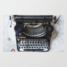Typewriter Love. Rug