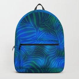 Zebra goes underwater Backpack