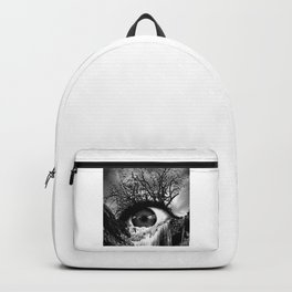 Cascade Crying Eye grayscale Backpack