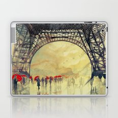 Winter in Paris Laptop & iPad Skin