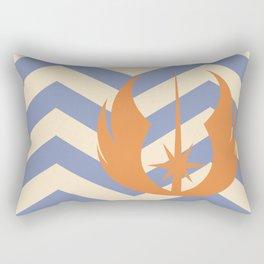 Ahsoka Tano Chevrons Rectangular Pillow
