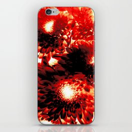 Flowers at Point of Detonation iPhone Skin
