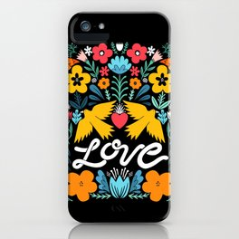 Love bird garden iPhone Case