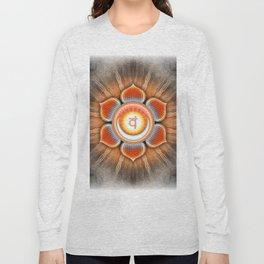 Svadhisthana Chakra - Sacral Chakra - Series IV Long Sleeve T-shirt