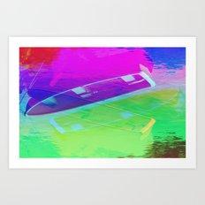 Float in the Sky Art Print