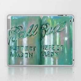 Ideal Mason Ball Jar Art Laptop & iPad Skin