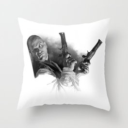 Swashbuckle Dom Throw Pillow