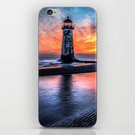 Lighthouse Sunset iPhone Skin