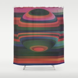 Sphere 6 Shower Curtain