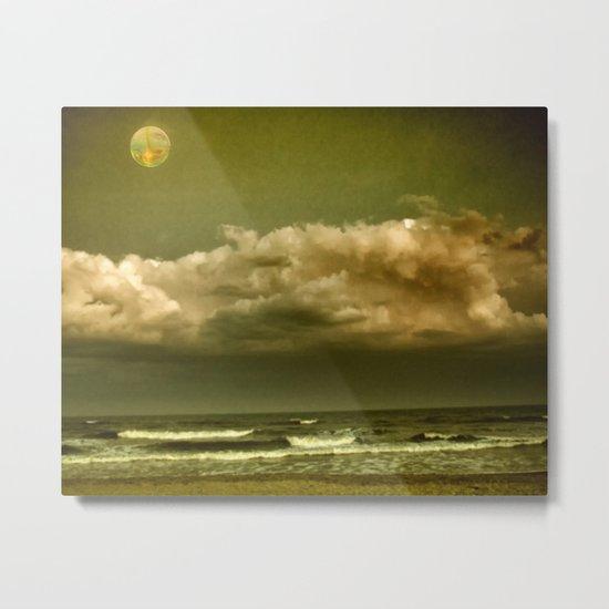 Alien Shore Metal Print