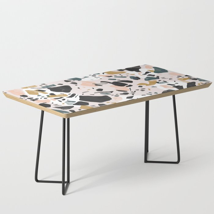 Abstract terrazzo 02 Coffee Table