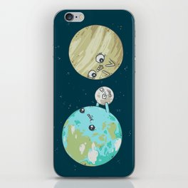 I'd Give you the Moon iPhone Skin