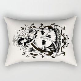 Mrs. Death II Rectangular Pillow