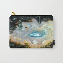 Geode Fairyland - Inverted Art Series Carry-All Pouch