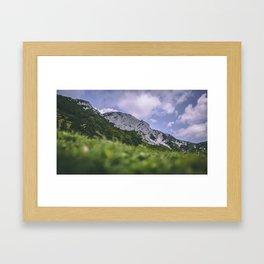 Lanscapes paradise Framed Art Print