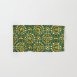Alhambra Double Star Pattern Hand & Bath Towel