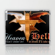 Heaven & Hell Bat Laptop & iPad Skin