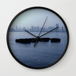 Middle of Water Wall Clock