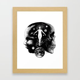 Harmonic Dance of Death & Rebirth Framed Art Print
