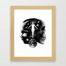 Harmonic Dance of Death & Rebirth Framed Art Print