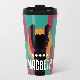 Macbeth by Shakespeare Travel Mug