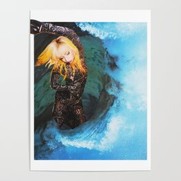 Lady Wave Poster