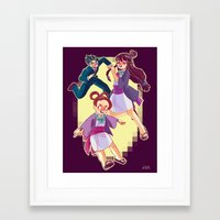 ace attorney Framed Art Prints featuring ace attorney by jununy