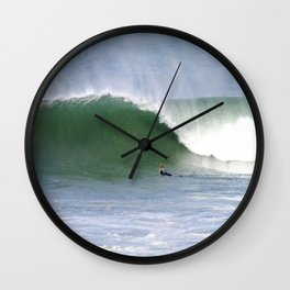 Mind Surfing Wall Clock