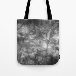 Black and White Tie Dye Tote Bag
