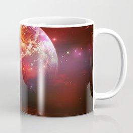 Segelboot im Universum Coffee Mug