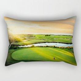 Golfing the Gong AE Rectangular Pillow
