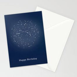 ARIES - Astronomy Astrology Constellation Stationery Cards