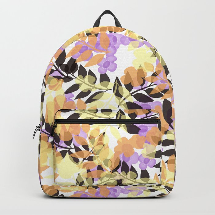 Autumn leaves . Backpack