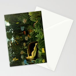 Henri Rousseau - The Dream Stationery Cards