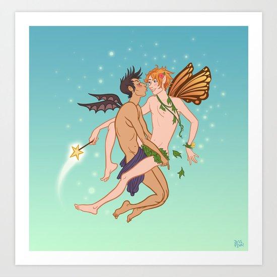 Fairies Art Print