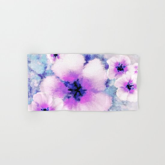 Rose of Sharon Bloom Hand & Bath Towel