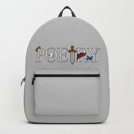 Merlin & Arthur - Poetry (Distressed) Backpack