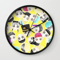 BIGBANG Collage (Yellow) Wall Clock