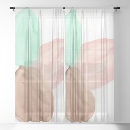 Opening Sheer Curtain