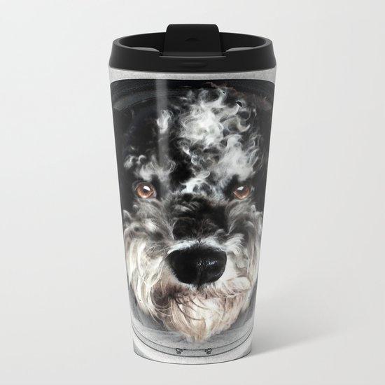 Buster Astro Dog Metal Travel Mug