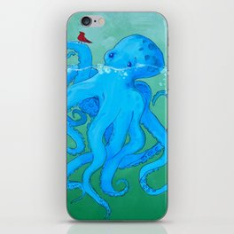 Octo Love Against the Odds iPhone Skin