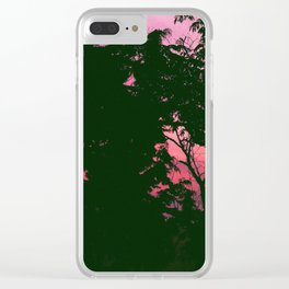 Summer nights Clear iPhone Case