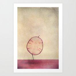 miss silver Art Print