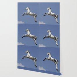 Escaped carousel horse Wallpaper