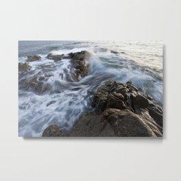 Stones at the beach Metal Print