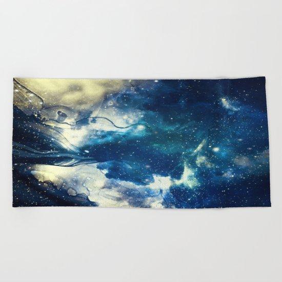 Book of Universe Beach Towel