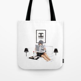 Relax reading Tote Bag
