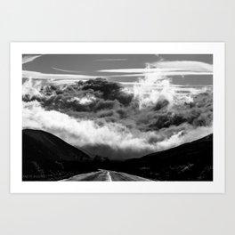 INTO IT Art Print