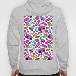Seamless pattern with colorful retro elements 2 Hoody